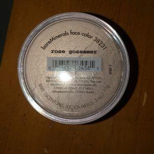 Bare Minerals rose gossamer face color